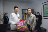 广西国际壮医医院开展春节前系列慰问活动