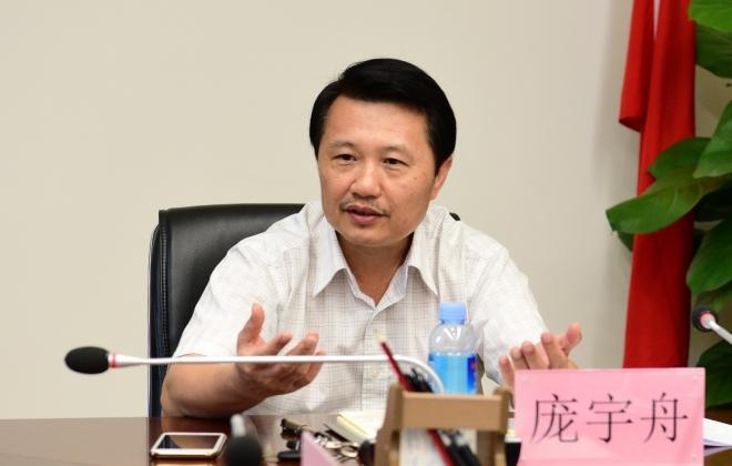 广西中医药大学党委副书记庞宇舟到我院调研指导